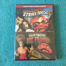 Killer Tomatoes Strike Back/Killer Tomatoes Eat France (DVD, 2013, FS) Brand New