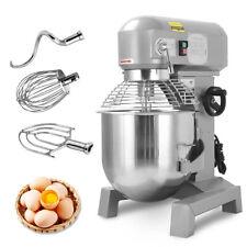 Gear Driven Bakery Blender 3 Speed New Commercial Dough Food Mixer 24hp 30qt