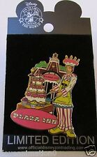 Disney DLR Dining Chef Series Plaza Inn Pin