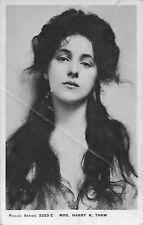 More details for c 1905 mrs harry k. thaw evelyn nesbit nesbitt gibson girl photo postcard
