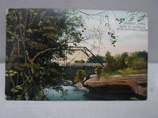Lawrence Kans Kansas, Deichman's Crossing, Wakaruse River, early postcard  1910