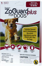 ZoGuard Plus Flea & Tick Treatment for Dogs, 45-88 lbs