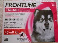 Frontline Tri-Act 3 pipettes antiparasitaire pour chiens  de 40 a 60 kg