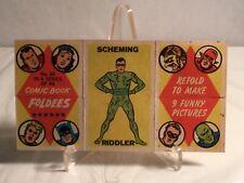 1966 COMIC BOOK FOLDEES- CARD #34 Riddler
