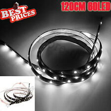 Waterpfoof 120cm 60 LED Strip Car Auto Van Flexible Neon Light Lamp Bulb 12V New
