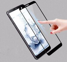 Real Full Cover Tempered Glass Protective Screen Protector Film For LG Series