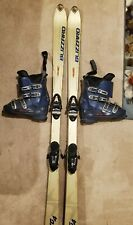 Snow Skis And Boots
