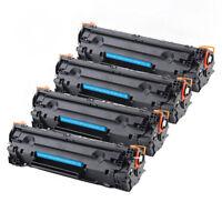 4PK CE285A 85A Toner Cartridge For HP LaserJet P1102 P1102w M1212nf m1217nfw MFP