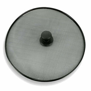 Splatter Screen Frying Pan,Cooker Cover 11,5''/ 29 cm Mesh Oil Grease-JOB LOT
