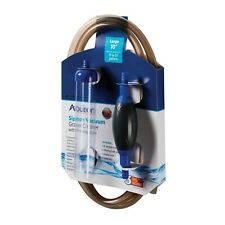 Aqueon Siphon Vacuum with Priming Bulb Aquarium Gravel Cleaner, 10-inch