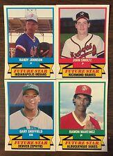 1988-89 CMC AAA ALL STARS Complete Set RANDY JOHNSON, JOHN SMOLTZ  B2018415