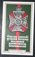 King's Royal Rifle Corps   World War 1  Battle Honours  Tribute Card  # VGC