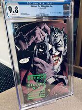 Batman: The Killing Joke CGC 9.8 1st Print (1988, DC) NO RESERVE