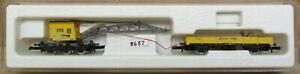 Marklin Mini-Club 8657 Crane w/Flatcar Z-Scale