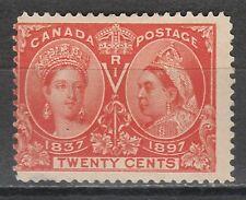 CANADA 1897 QV JUBILEE 20C
