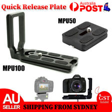 MPU100 /50 Quick Release L Plate Bracket for Camera Benro Arca Swiss Universal