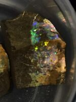 Koroit Boulder Opal Beautiful Rough 92.2 Cts For Cutting/cabbing Very Colorful