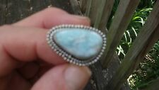 NEW Carribean Larimar ring size 10 1/4 .925 stamped