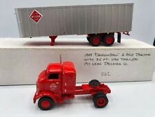 New ListingEarly 1949 Style Cannonball Coe McLean Trucking Tractor Truck With Trailer Ho