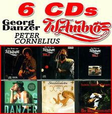 6CD ☆ WOLFGANG AMBROS Best 1, 2, 3 Watzmann ☆ PETER CORNELIUS Streicheleinheiten