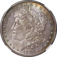 1880-O Morgan Silver Dollar NGC MS63 CAC Sticker Nice Eye Appeal Strong Strike
