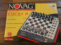Jeu d'échecs électronique Novag Zircon II Chess Computer