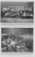 1900 Antique Print - SHIPPING SS Nubia Hospital Ward Wounded Long Cecil   (107)