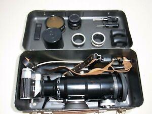 Photosniper ZENIT ES Fs-12 TAIR 3 PHS 4,5 Photo Sniper Industar 50 Fotosniper