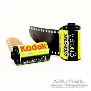 Kodak Vision3 250D 35mm Motion Picture Film ~ Single Roll 30 Exp  fresh stock