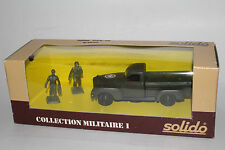 SOLIDO MILITARY #6040 U.S. ARMY MILITARY DODGE PICKUP TRUCK, 1:50, NEW IN BOX