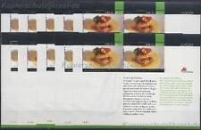 EUROPA CEPT 2005 GASTRONOMIE - 10 x PORTUGAL MADEIRA BLOCK 30 - MICHEL 120,00