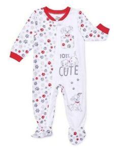 Disney Baby 101 Dalmatians Boys Zip Front Microfleece Blanket Sleeper sz 18M NEW