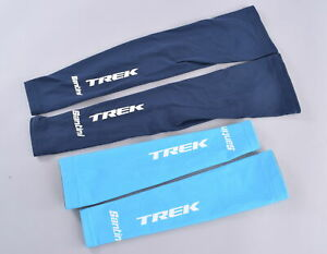 Santini Trek Factory Racing Pro Team Arm + Leg Warmer Set XS/S Blue Navy Road