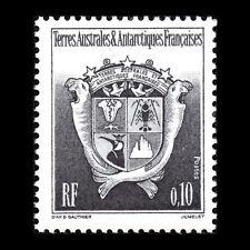 TAAF 1992 - Coat of Arms Black 0.10 - Sc 173 MNH