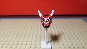 LEGO Ninjago Mr. E Minifig Oni Mask of Vengeance & Helmet Only - Headgear - HTF