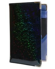 of Course Holographic Glitter Server Book for Waitress and Waiter ZIPPER Pocket