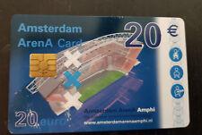 Amsterdam Arena Card 2003 Amphi 20 Euro