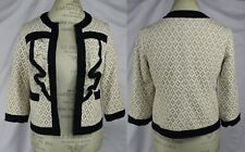 Anthropologie Lace Blazer Jacket By Tabitha Size 4