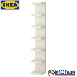 NEW IKEA LACK White Wall shelf unit - white 11 3/4x74 3/4  FAST SHIPPING