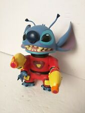 """Disney Lilo's Stitch 7"""" Pvc Figure Articulated 4 Arms Ray Guns Space Alien Toy"""