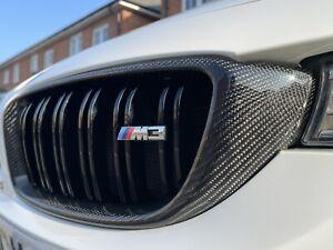 BMW 4 Series F32 F33 F36 Genuine Carbon Fibre Kidney Grills 420 425 430 435 440