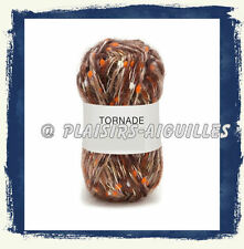 6 pelotes de laine TORNADE AUTOMNE  Neuves