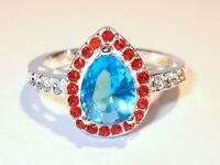 Damen Ring Orania, 925er Silber, Zirkonia, Gr. 58