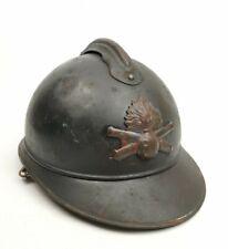 Casque Adrian Modèle 1915 Artillerie Ww1 Poilu 14 18 French Helmet