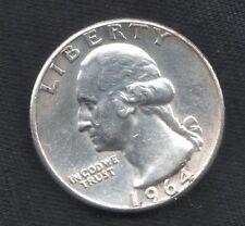 USA 25 CENT GEORGE.WASHINGTON 1964 FDC ARGENTO silver QUARTER dollar mrm
