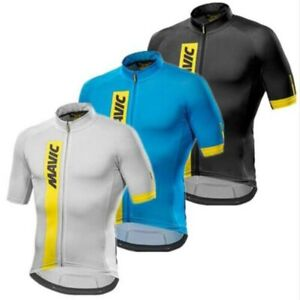 Mavic Cycling Jersey Cycling Clothing Racing Sport Bike Jersey Top Cycling