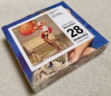 Elvgren Pin Up 2001 Desk Calendar