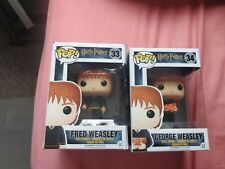 Funko Pop Boxed Harry Potter Fred And George Weasley 33+34
