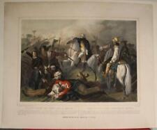 New ListingBoston Massachusetts Usa 1860 Turgis Antique American Revolutionary Battle Scene