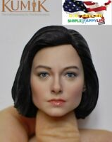 "kumik 1/6 female head sculpt Jodie Foster KM18-47 for hot toys 12"" figure ❶USA❶"
